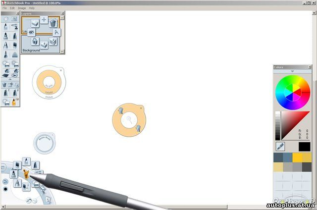 Sketchbook Pro - Программа для эскизного рисования Autodesk SketchBook Pro,