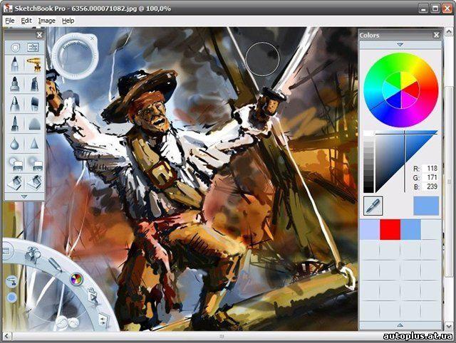 Название: Autodesk Sketchbook Pro Версия: 2010 Лицензия: Other Операционая